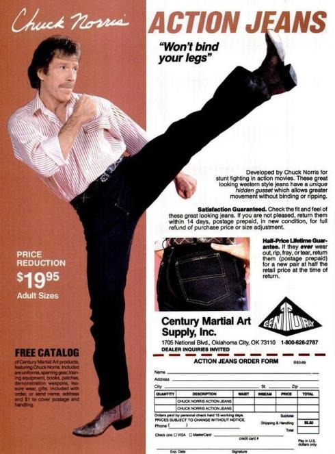 Chuck jeans