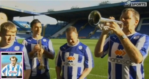Sheffield wednesday band with trevor francis
