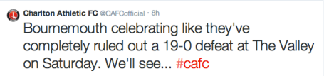 Charlton Athletic - former kings of twitter