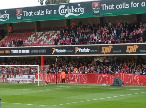 Boro' fans believe in their team and their,erm, farts???