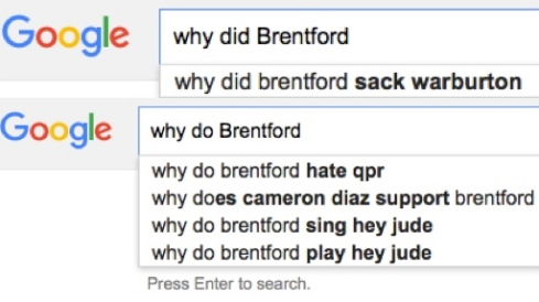 Why do did Brentford